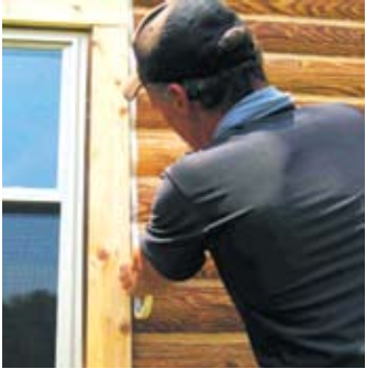 Sealing Doors and Windows with Energy Seal - Step 3